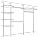 Aluminium Stanchion Kit 2 (with shelves and hanging)  - image #1