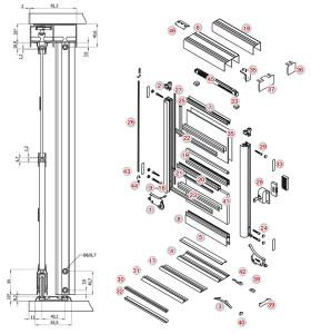 aluminium-system