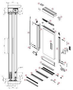 frameless-aluminium
