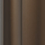 Olive Brown anodised aluminium sliding wardrobe door frame & track image