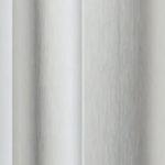 Brushed Silver anodised aluminium sliding wardrobe door frame and track sample