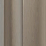 Brushed Champagne aluminium sliding wardrobe door frame and track sample