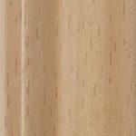 Beech steel sliding wardrobe door frame and track sample
