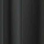 Brushed Black anodised aluminium sliding wardrobe door frame & track sample