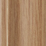 Oak steel sliding wardrobe door frame and track sample