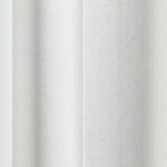 White coated aluminium sliding wardrobe door frame & track image